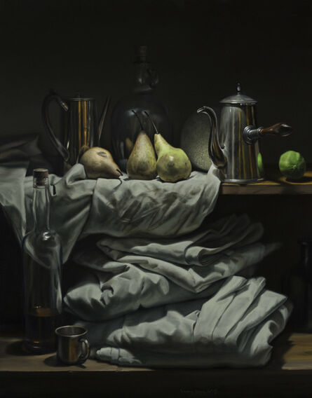 Gregory Block, 'Three Pears', 2015