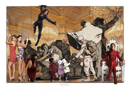 Lluis Barba, 'Disparate conocido. Goya', 2020
