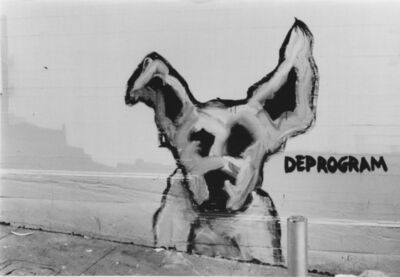 Arabella Colton, 'Wall Dog — Deprogram, Fresno Alley, San Francisco 1992 ', 1992