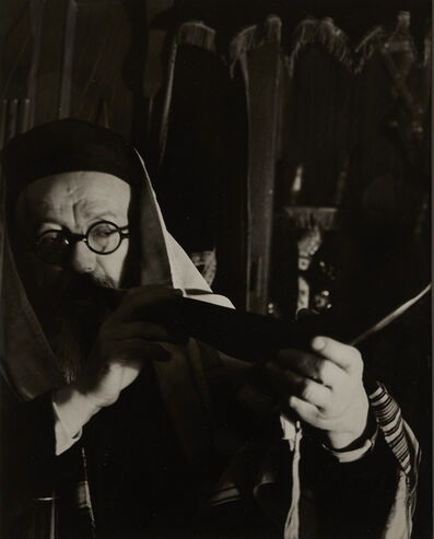 Arnold Eagle, 'Blowing the Shofar', ca. 1935
