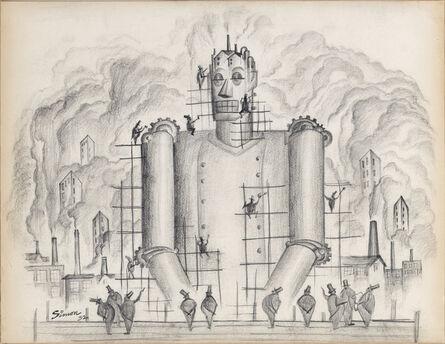 Henry Simon, 'Untitled (Industrial Frankenstein I)', 1932