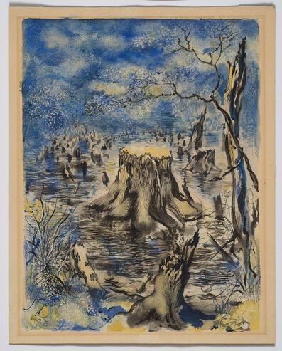 George Grosz, 'Garnet Lake', 1943