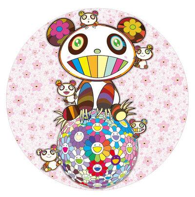 Takashi Murakami, 'Sakura and panda', 2020