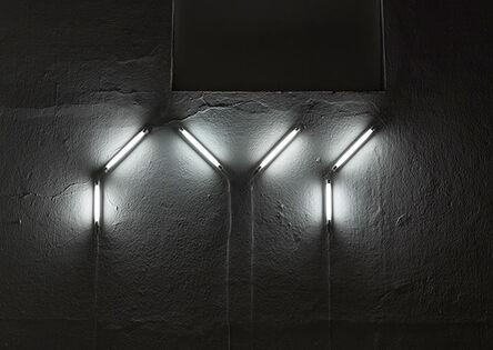 Detanico Lain, 'Seis (em português) - da série Braille Ligado', 2008