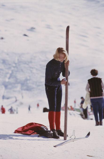 Slim Aarons, 'Verbier Skiier', 1964