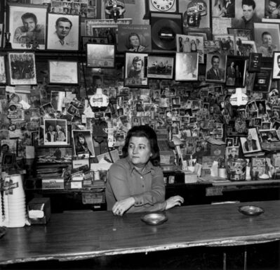 Henry Horenstein, 'Wanda behind the Bar, Tootsie's Orchid Lounge, Nashville, Tennessee', 1974