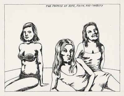 Raymond Pettibon, 'No Title (The Promise of...)', 1982