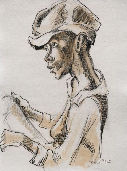 Thomas Hart Benton, 'Georgia Cotton Boy', ca. 1928