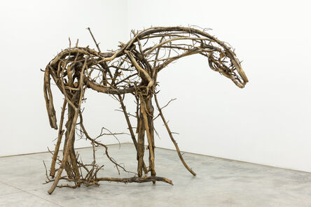 Deborah Butterfield, 'Pine Forest', 2016