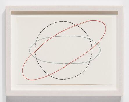 Nina Katchadourian, 'Equator Drawing #3', 2020