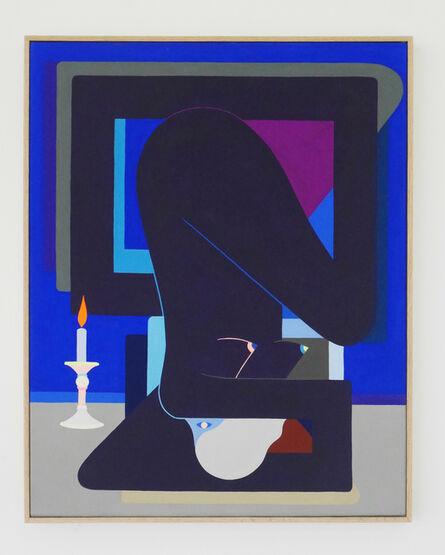 Richard Colman, 'Con Vela (Purple Figure)', 2017