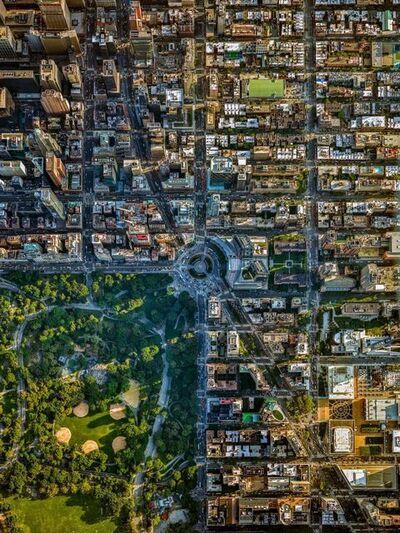 Jeffrey Milstein, 'NYC Columbus Circle - NY Aerials', 2016