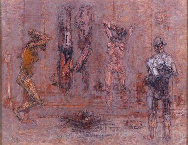 Valeriano Ciai, 'Interior with figures'