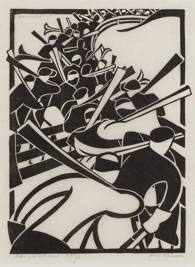 Lill Tschudi, 'Ski Weekend', 1935