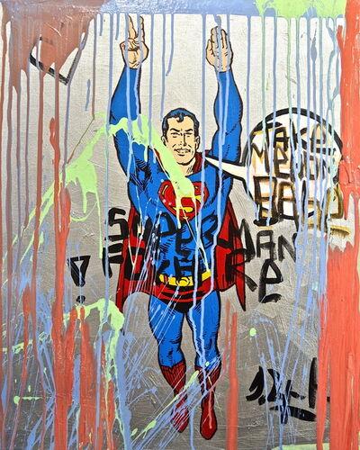 Domingo Zapata, 'Superman for Hire, 2015', 2015