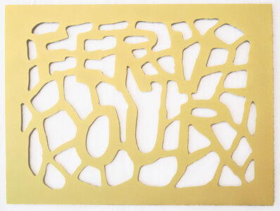 Susan Hefuna, 'FERVOUR, from the Gold Drawings Series', 2013