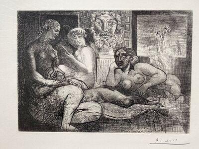 Pablo Picasso, 'Quatre Femmes Nues et Tete Sculptee', 1934