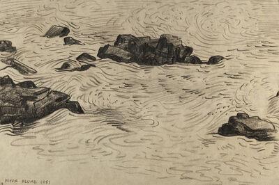 Peter Blume, 'Study for Crashing Surf (B)', 1981