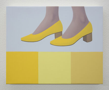 Ridley Howard, 'New Shoes in Yellow', 2019