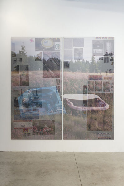 Peter Sutherland, 'Double Tubble', 2015