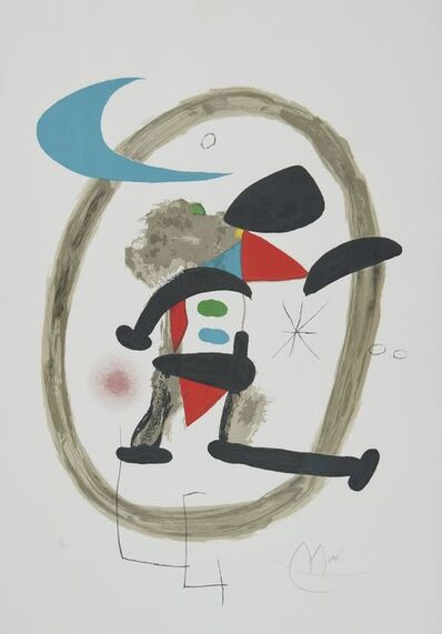 Joan Miró, 'Arlequin Circonscrit', 1973