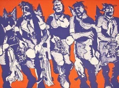 Fritz Scholder, 'Hopi Dancers', 1974
