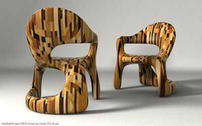 Yard Sale Project, 'Corsican Chairs', 2011