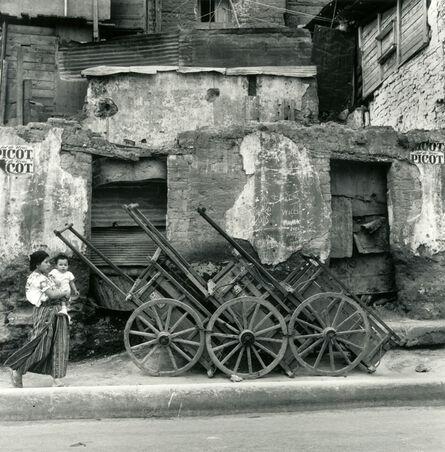 Mario Algaze, 'Carretas / Wagons, Guatemala', 1979