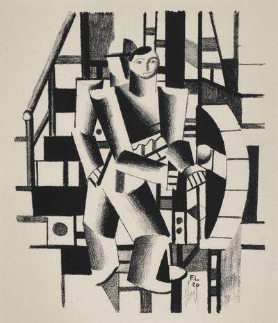 Fernand Léger, 'Composition aux deux personages (Der Maschinenbauer)', 1920
