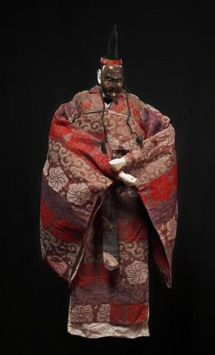 'Okina marionette with mask', Early 20th century