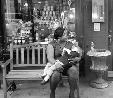 Richard Longo Burrows, 'Woman With Child', 2018