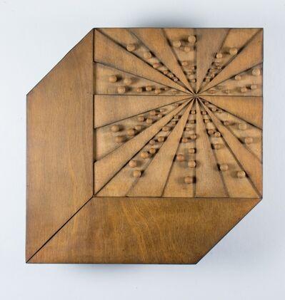 Pol Bury, '76 Boules Dans Un Cube', 1997