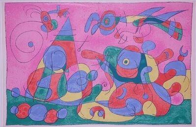 Joan Miró, 'Le trésor et la Mère Ubu, pl. IX, from Suites for Ubu Roi', 1966