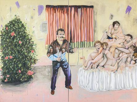 Michael Günzer, 'Rosengarten', 2021