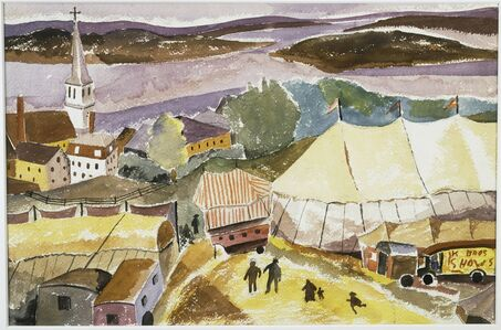 Hugh Collins, 'The Circus Comes to Treport', Date unknown