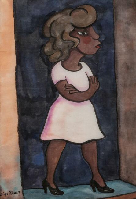 Diego Rivera, 'Standing Woman in Doorway'