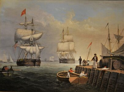 Fitz Henry Lane, 'Boston Harbor', ca. 1846