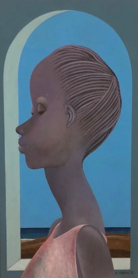 Bernard Séjourné, 'Long Face', 1987