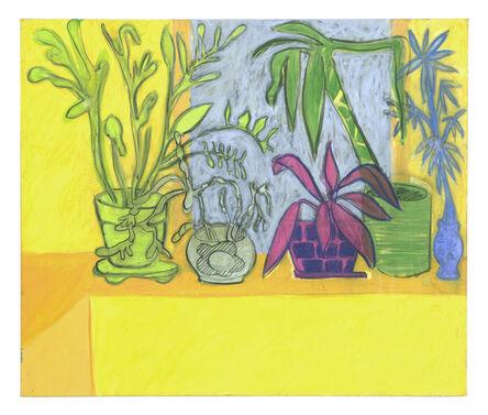 Tyson Reeder, 'Houseplants (yellow)', 2013