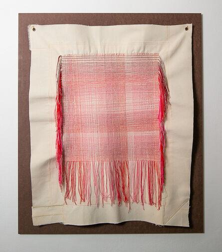 Pierre le Riche, 'Tartan Gradient in Red', 2020