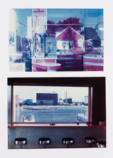 """Dan Graham, '""""""""Do-It-Yourself"""" Shop, Jersey City, NY, 1969"""" / """"Highway Restaurant, Jersey City, NY, 1967""""'"""