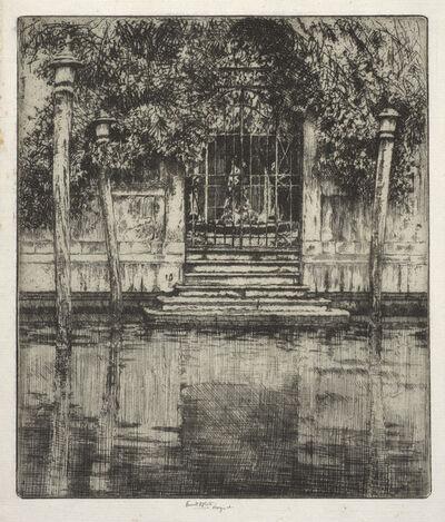 Ernest David Roth, 'The Gate, Venice', 1906