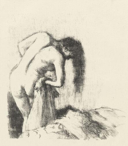 Edgar Degas, 'After the Bath (La sortie du bain (Petite planche))', ca. 1891