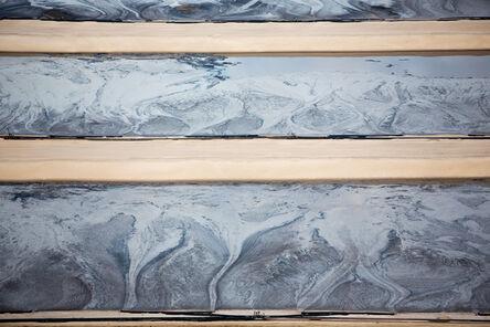 Alex Maclean, 'Waste Channels, Suncor Mine, Alberta, Canada', 2014