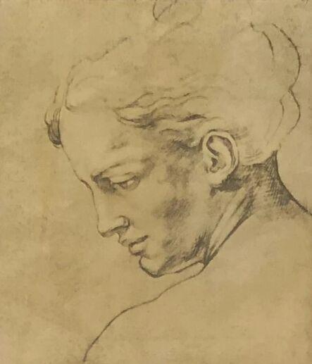 Unknown Artist, 'Lady Profile', ca. 2000