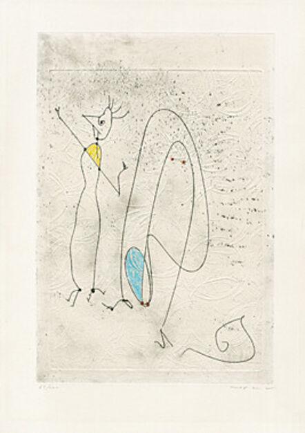 Max Ernst, 'Les noces interrompues', 1971