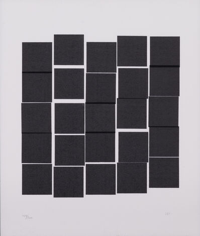 Vera Molnar, 'Carrés gris', Circa 1980