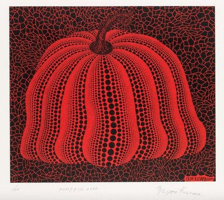 Yayoi Kusama, 'Pumpkin 2000 (Red)', 2000