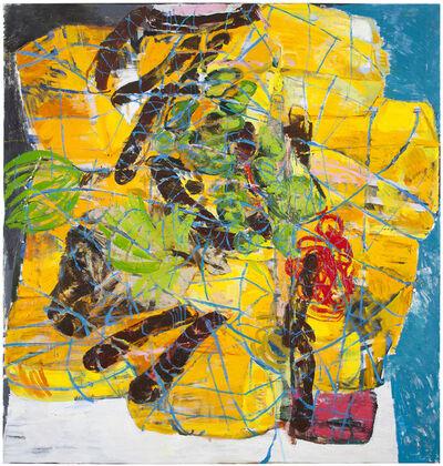 Anna Retulainen, 'Lasti (Nigerialaista salakuljetettua bensaa, ruokaa ja valkoinen auto)', 2014