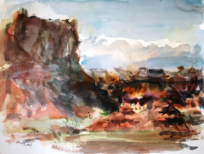Raoul Middleman, 'Mesa Valley', 2001